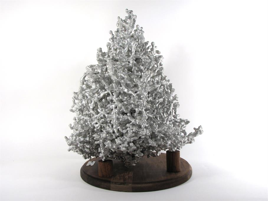 Aluminum Fire Ant Colony Cast #010 - Right Picture.