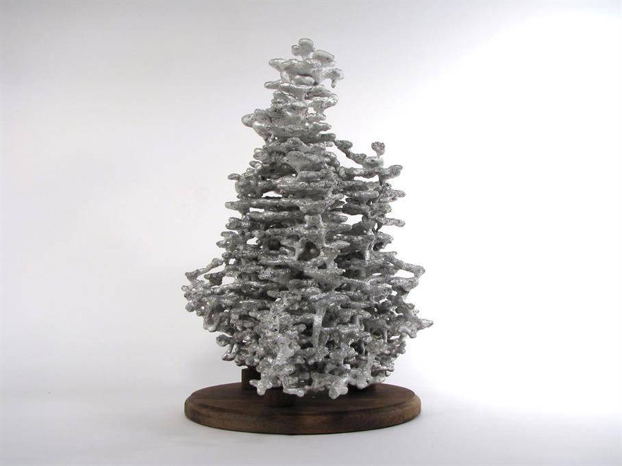 Aluminum Fire Ant Colony Cast #025 - Back Picture.