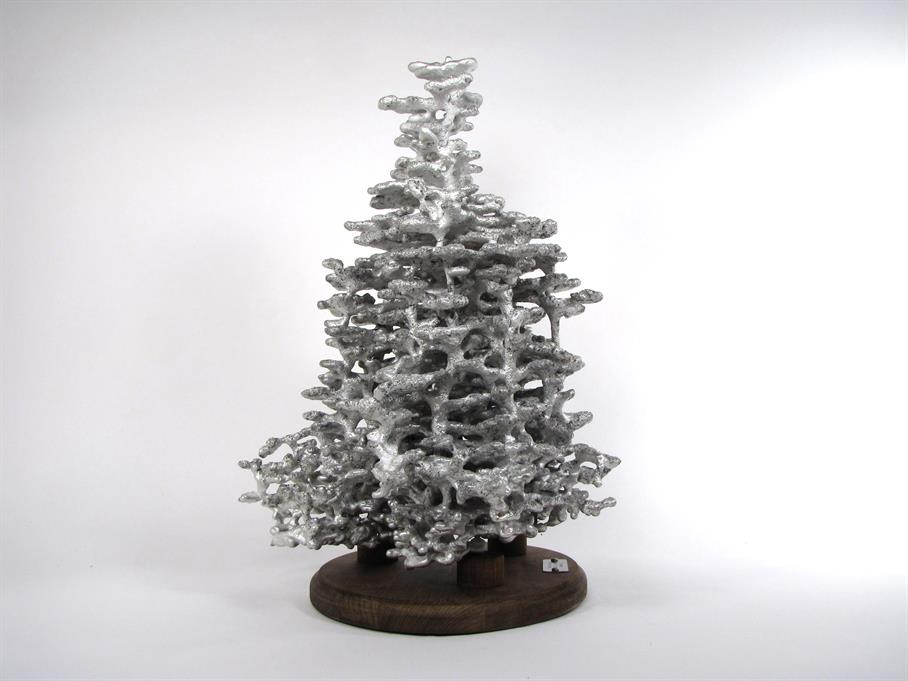 Aluminum Fire Ant Colony Cast #025 - Left Picture.