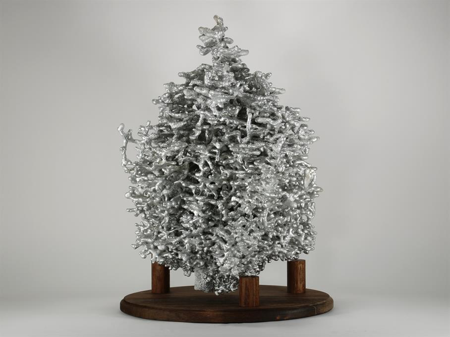 Aluminum Fire Ant Colony Cast #045 - Back Picture.