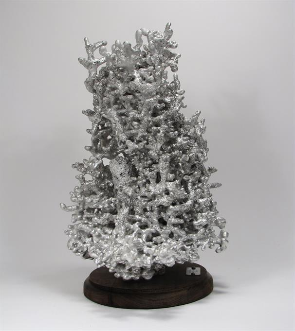 Aluminum Fire Ant Colony Cast #047 - Left Picture.