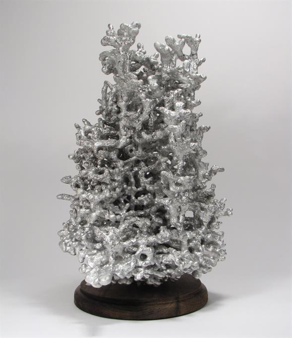 Aluminum Fire Ant Colony Cast #047 - Right Picture.