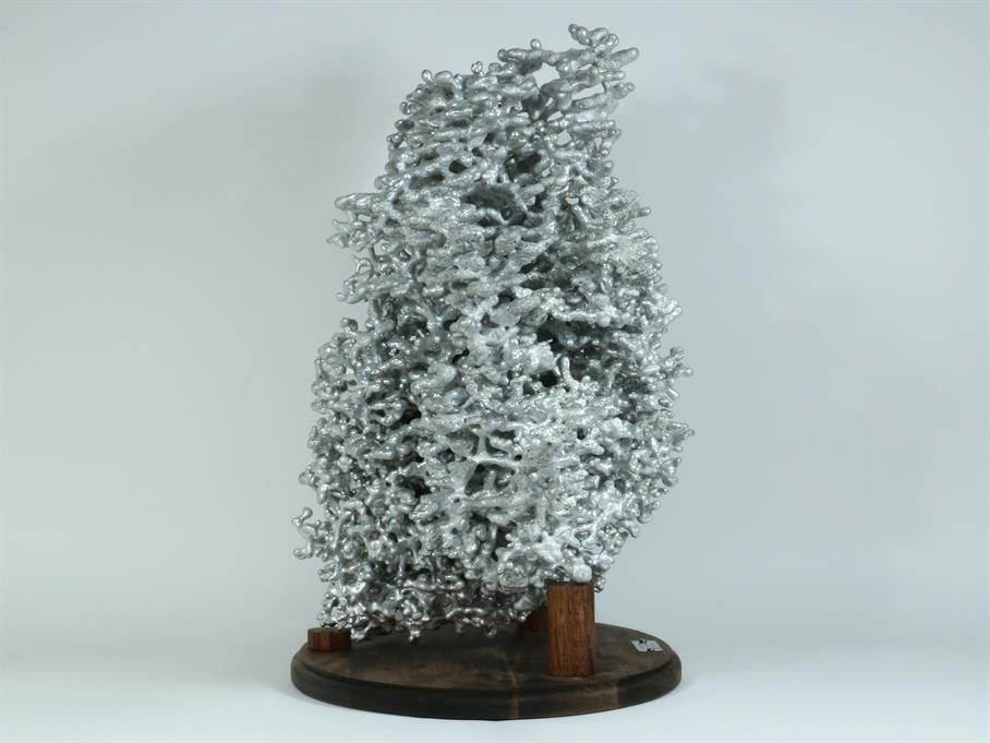 Aluminum Fire Ant Colony Cast #057 - Left Picture.
