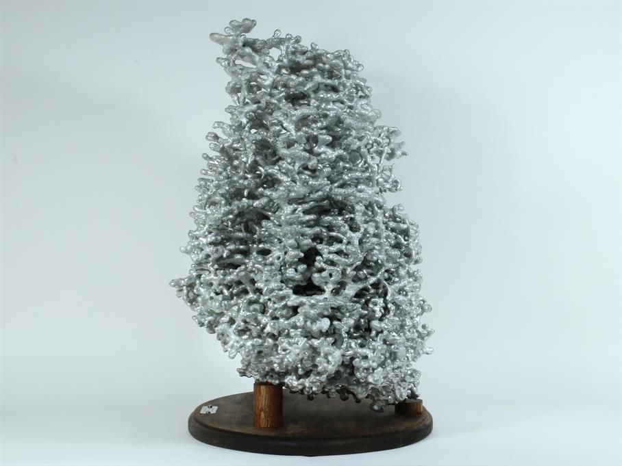 Aluminum Fire Ant Colony Cast #057 - Right Picture.
