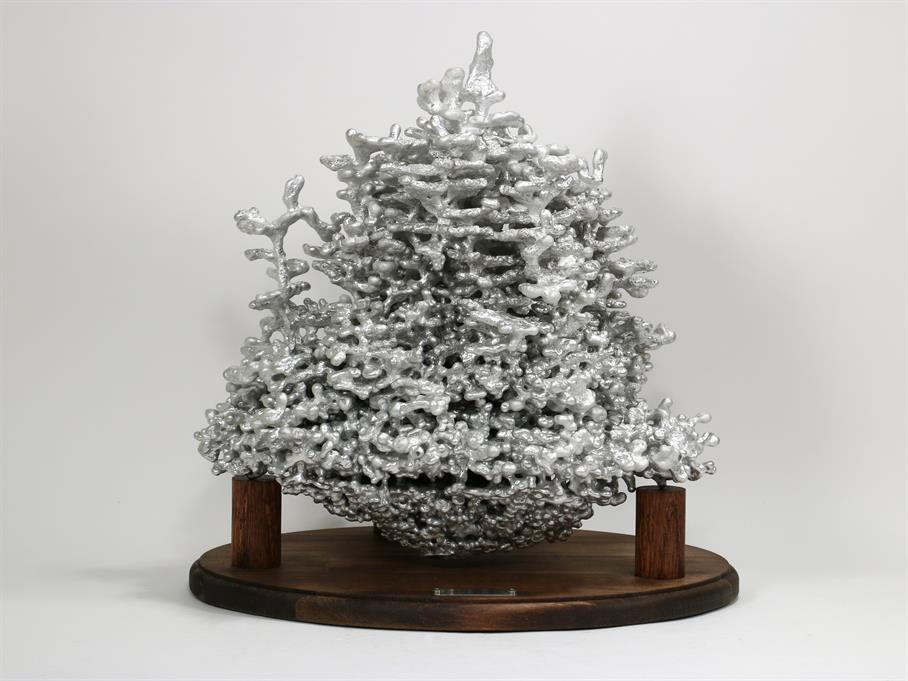 Aluminum Fire Ant Colony Cast #062 - Front Picture.
