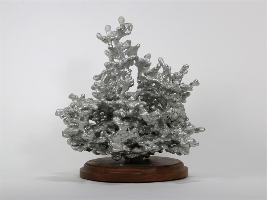 Aluminum Fire Ant Colony Cast #065 - Front Picture.