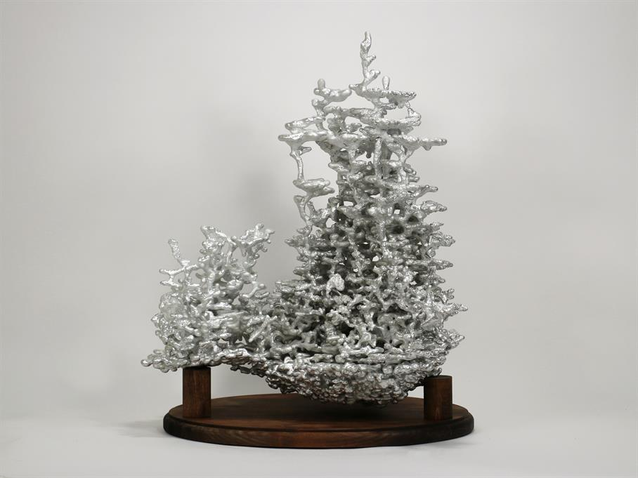 Aluminum Fire Ant Colony Cast #067 - Back Picture.
