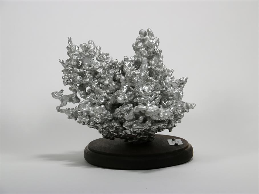 Aluminum Fire Ant Colony Cast #068 - Left Picture.