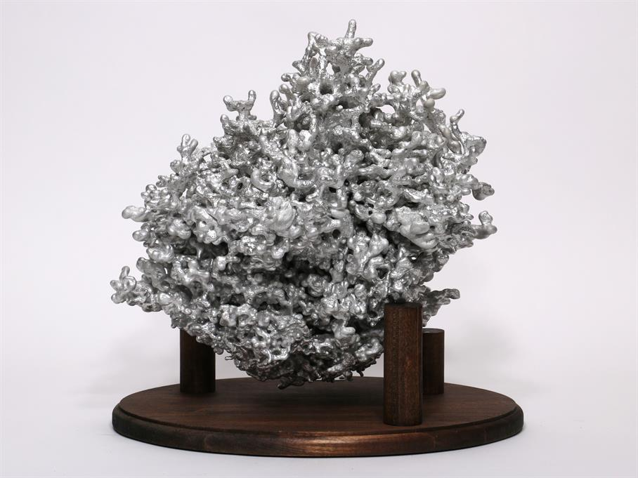 Aluminum Fire Ant Colony Cast #070 - Back Picture.