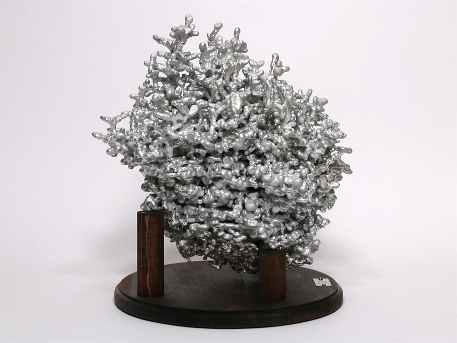 Aluminum Fire Ant Colony Cast #070 - Left Picture.