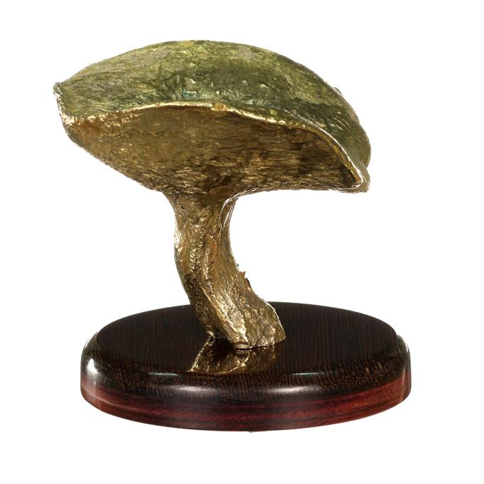Brass Bolete Mushroom Cast #095 - Left Picture.
