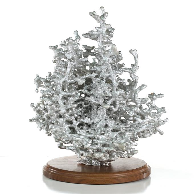 Aluminum Fire Ant Colony Cast #100 - Back Picture.